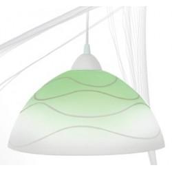 Svítidlo D1 zeleno-bílé