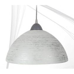 Svítidlo D1 stříbrná spirála