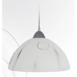 Svítidlo D1 stříbrné listí