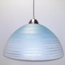 Svítidlo D4 modro-bílé