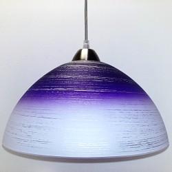 Svítidlo D4 fialovo-bílé