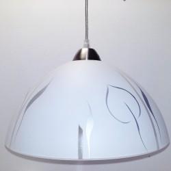 Svítidlo D2 stříbrné listí
