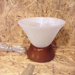 Stolní lampička se sklem Murano II
