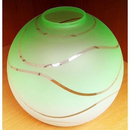 Náhradní sklo fialovo-bílé